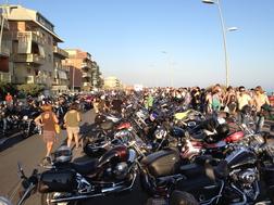 110° raduno Harley a Roma, 2013. INCREDIBILE !