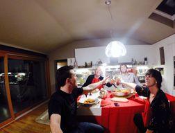 Vigilia di Natale in famiglia